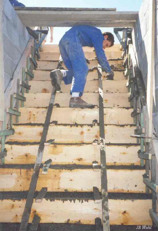 M morial maginot de haute alsace for Etancheite escalier exterieur